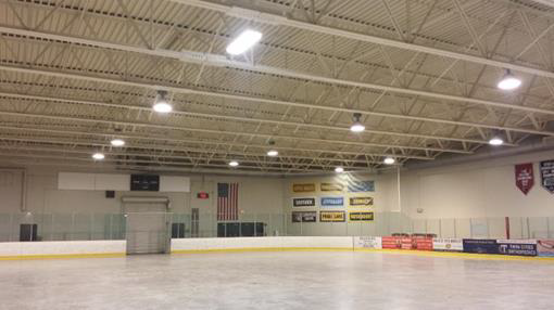 Poor HID Hockey Arena Lighting