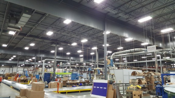 Type C LED Retrofit on highbays