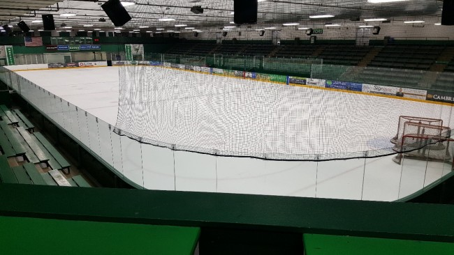 Braemar Hockey Arena Fluorrescent to LED