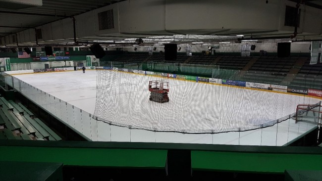 Retrofitting Braemar Arena Hockey Rink to LED