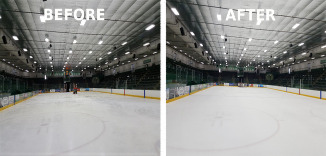 Hockey Rink LED Retrofit