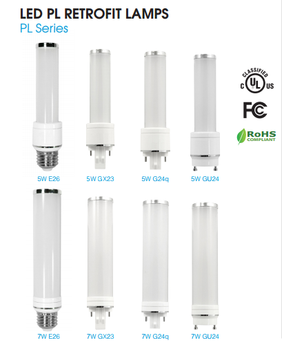 Led Pl Plug Premier Lighting With Lamps Cfl Replacing In WEHD92I